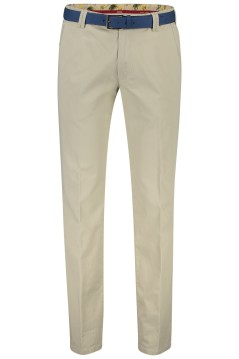 Meyer chino New York beige met riem