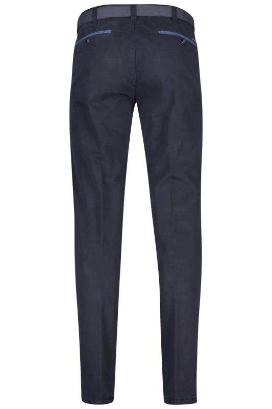 5-pocket broek donkerblauw Meyer Diego modern fit