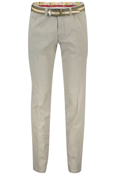 Meyer chino Chicago modern fit beige print