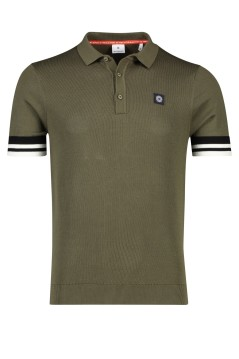 Blue Industry poloshirt army