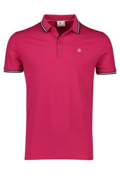 Blue Industry polo fuchsia