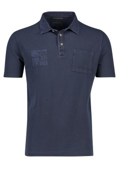 Camel Active polo donkerblauw