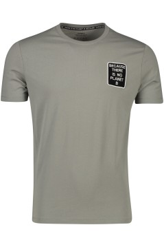 Ecoalf t-shirt 'Natal Because' dark khaki