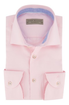Roze overhemd John Miller Tailored Fit
