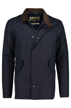 Barbour winterjack Chester donkerblauw