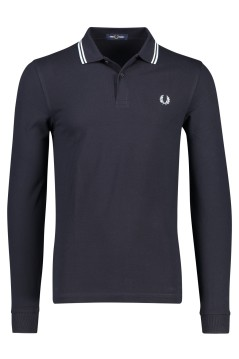 Lange mouwen polo navy Fred Perry