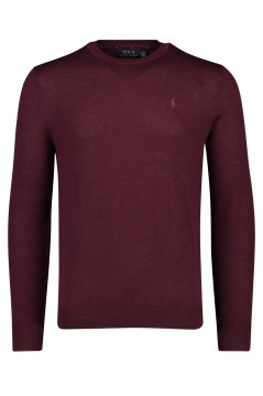 Trui bordeaux 100% wol Ralph Lauren Slim Fit