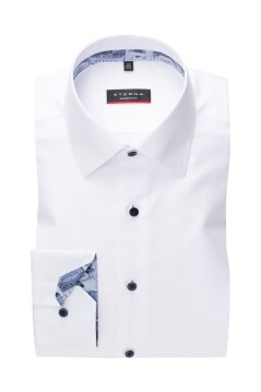 Eterna shirt wit Modern Fit