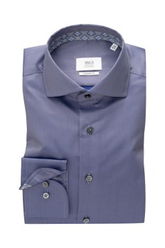 Eterna shirt blauw Modern Fit
