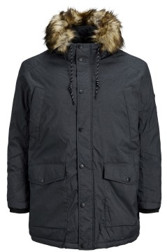Jack & Jones parka grijs Plus Size