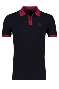 Hugo Boss poloshirt Philipson navy bordeaux