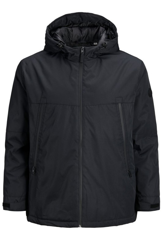 Winterjas Jack & Jones zwart Plus Size
