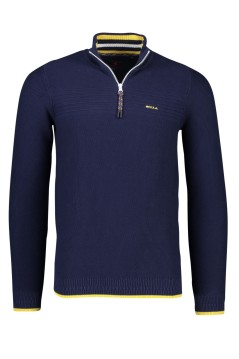 NZA pullover Wairepo donkerblauw