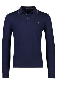 Ralph Lauren polo lange mouwen Slim Fit navy