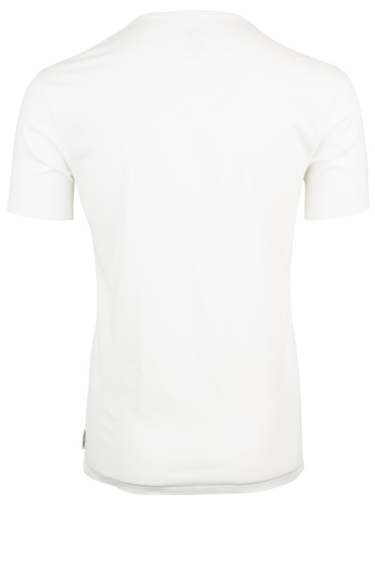Calvin Klein wit T-shirt v-hals stretch 2-pack