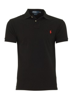 Ralph Lauren polo km slim fit Black