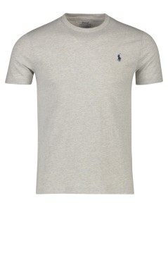 T-shirt Ralph Lauren grijs Custom Slim Fit