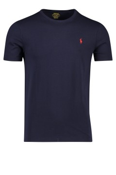 Ralph Lauren t-shirt slim fit ronde hals navy