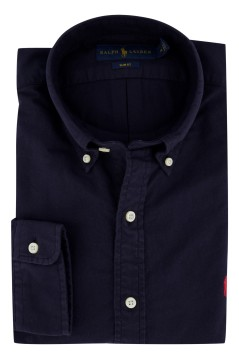 Ralph Lauren shirt slim fit oxford Navy