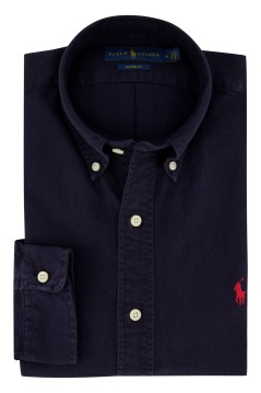 Ralph Lauren shirt custom Navy