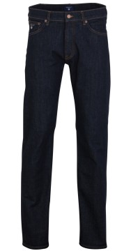 Gant regular straight jeans donkerblauw