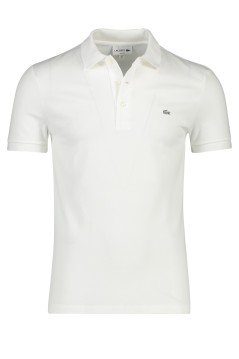 Lacoste polo wit stretch slim fit