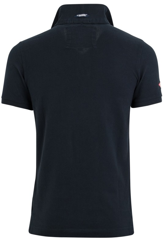 Superdry polo Classic Piqué Eclipse Navy