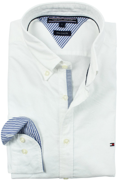 Tommy Hilfiger overhemd Ivy oxford classic white