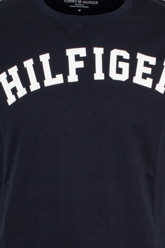 Tommy Hilfiger Icon t-shirt donkerblauw met logo