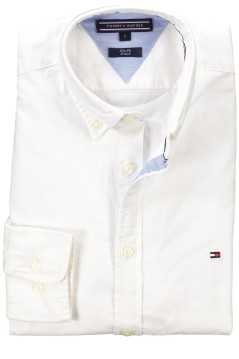 Tommy Hilfiger shirt slim fit Core Stretch white