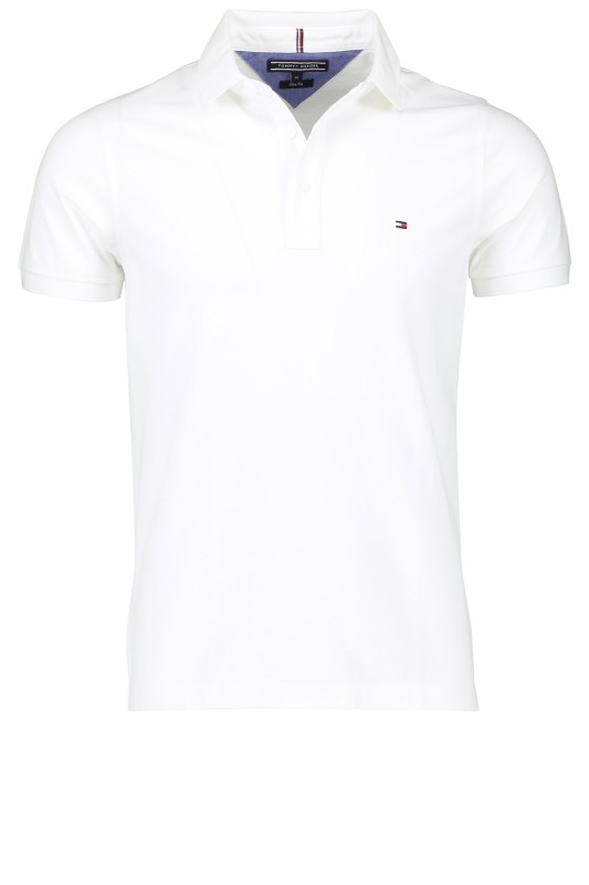 Tommy Hilfiger polo wit slim fit