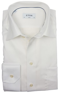 Eton business shirt classic fit wit uni