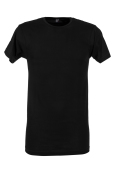 Alan Red t-shirt Derby Long zwart