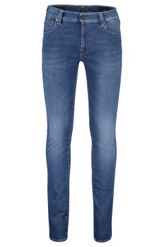 Tramarossa 5-pocket denim slim fit donkerblauw