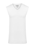 Slater sleeveless t-shirt stretch v-hals